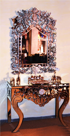 CONSOLE TABLE WITH MIRROR CWM-141/248