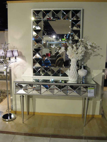 CONSOLE TABLE WITH MIRROR CWM-601