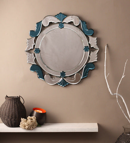 Classic Round Wall Mirror VDBL-01