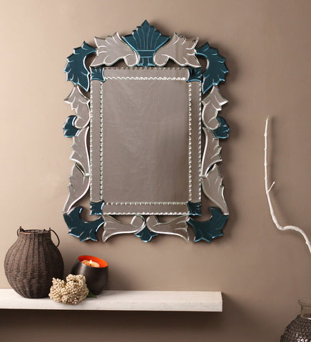 Leaf Design Wall Mirror VDBL-04