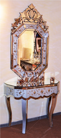 CONSOLE TABLE WITH MIRROR CWM-370