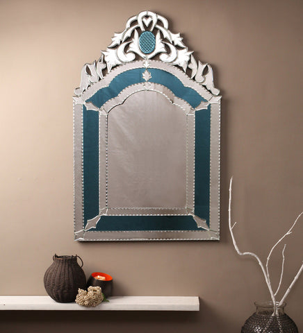 Royal Blue Venetian Mirror VDBL-06