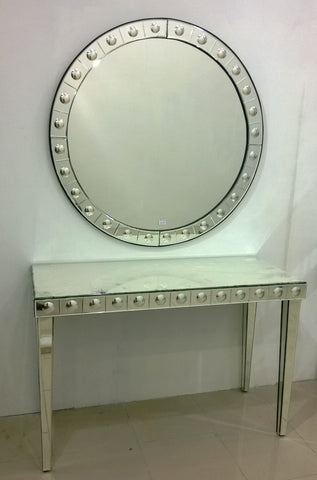 CONSOLE TABLE WITH MIRROR CWM-610