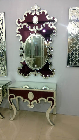 CONSOLE TABLE WITH MIRROR CWM-612