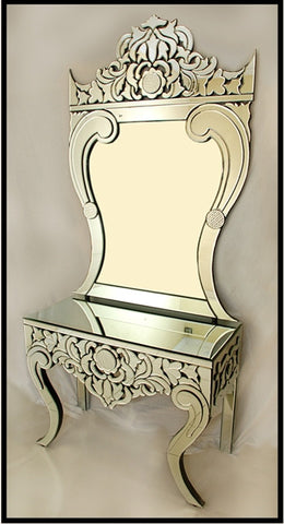 CONSOLE TABLE WITH MIRROR CWM-614