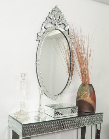 Long Oval Wall Mirror VDS-15