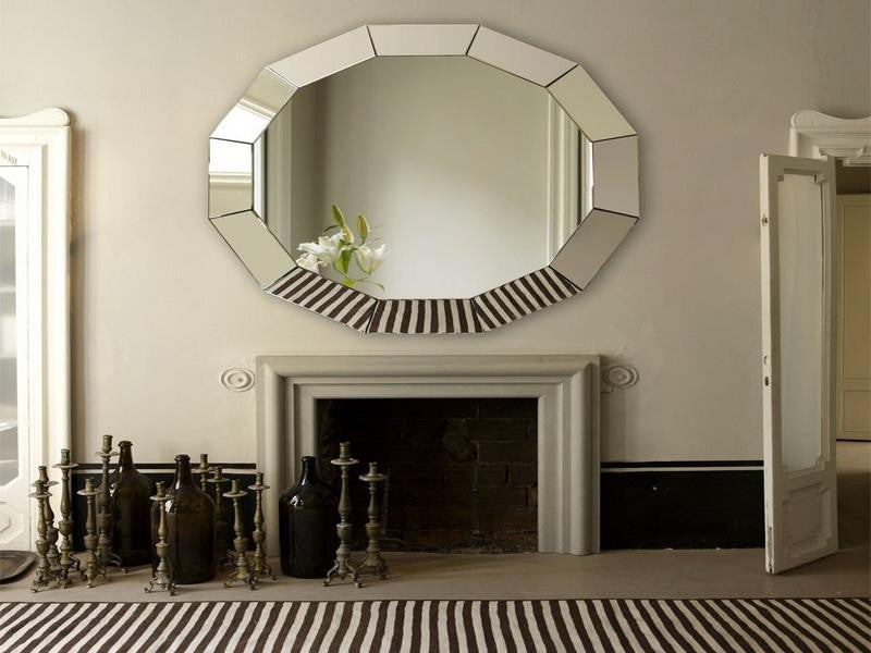 Modern Wall Mirror For Living Room Vd Pi 638 Venetian Design The Boutique Factory 100 Heart Made Products