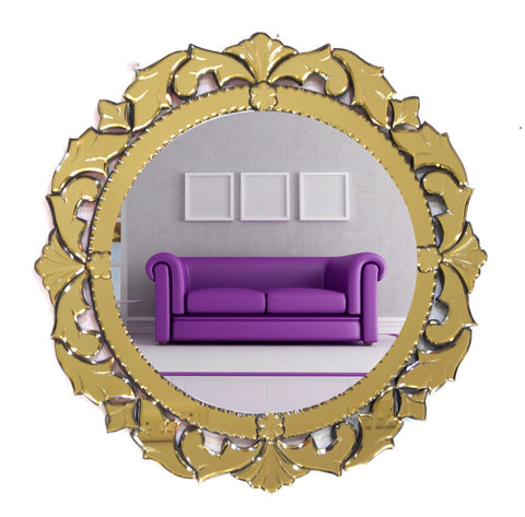 Golden Wall Mirror VDS-28