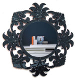 FLOWER ROUND MIRROR VDR-430 B