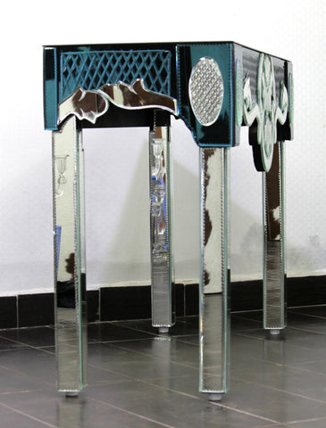 Decorative handcrafted Murano Style Console Table