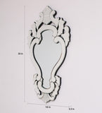Classic Crown Wall Mirror VDS-14