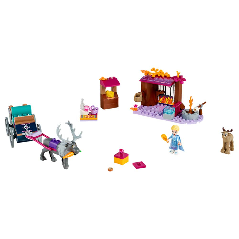 41166 Princess Elsa and The Reindeer Carriage