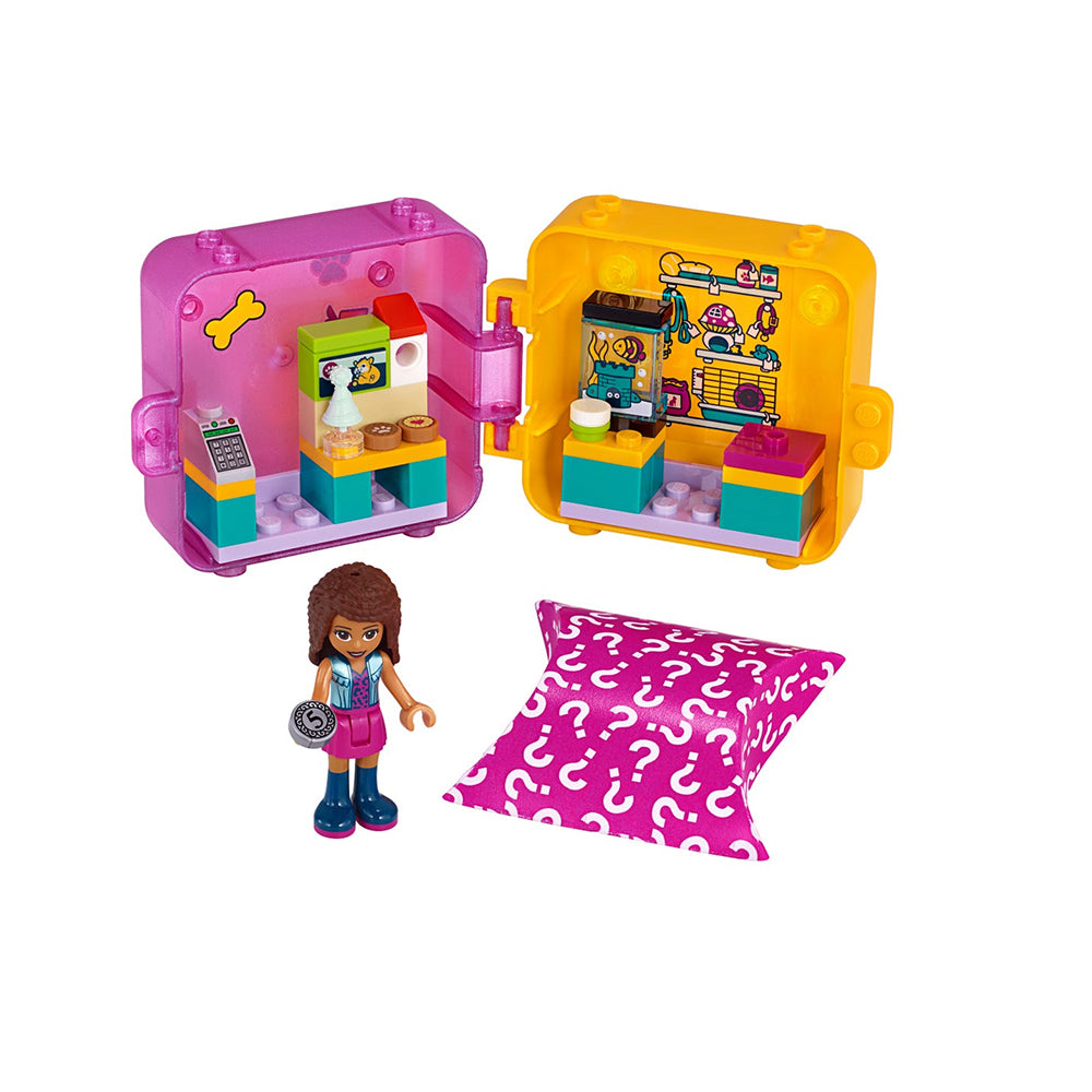 41405 Andrea's Shopping Play Cube - Pet Shop