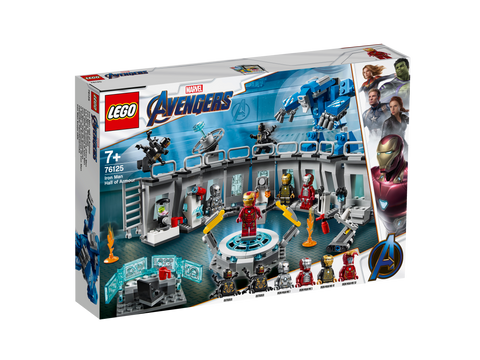 76125 LEGO® Super Heroes Iron Man Hall Of Armour