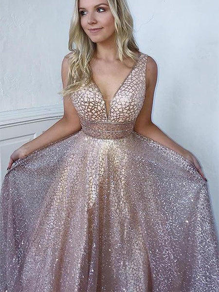 Shiny Prom Dresses Wedding Party Dresses LPD898 - LaRovias