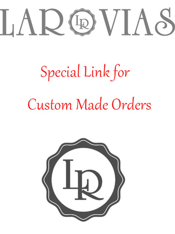 Custom Made Wedding Dress Order for Carly - LaRovias