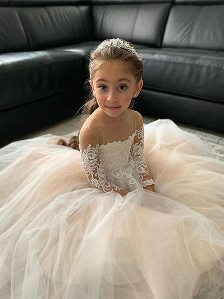 Flower Girl Dresses FG008 - LaRovias