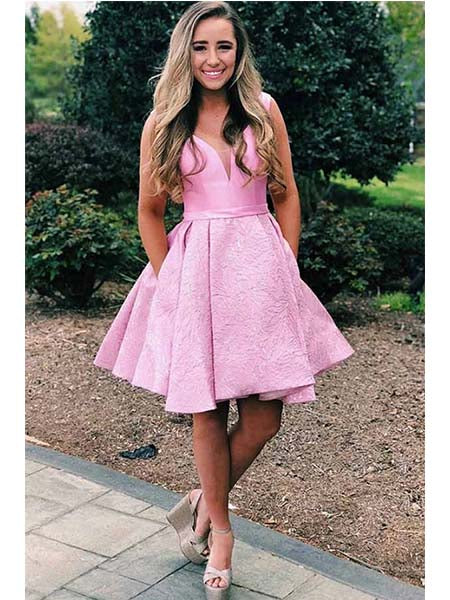 Homecoming Dresses Graduation Party Dresses HC0023 - LaRovias