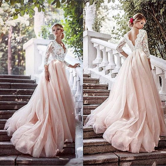 2021 Tulle and Lace Prom Dresses Wedding Party Dresses Evening Dresses