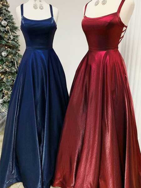 A Line Formal Dresses Prom Dresses Wedding Party Dresses LPD467 - LaRovias