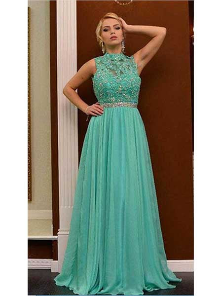 Tulle and Lace Formal Dresses Prom Dresses Wedding Party Dresses LPD475 - LaRovias