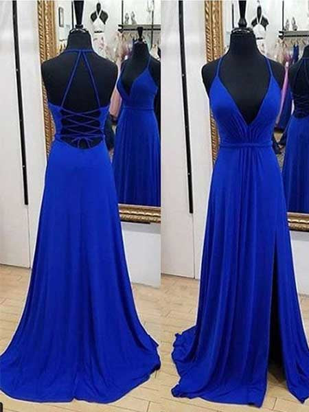 Backless Formal Dresses Prom Dresses Wedding Party Dresses LPD483 - LaRovias