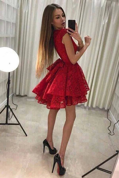 Homecoming Dresses Graduation Party Dresses HC0052 - LaRovias