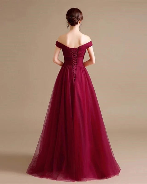 Tulle Prom Dresses Wedding Party Dresses LPD593 - LaRovias