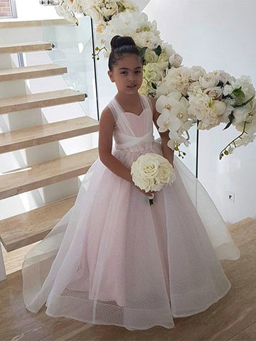 Tulle Flower Girl Dresses FG0055 - LaRovias