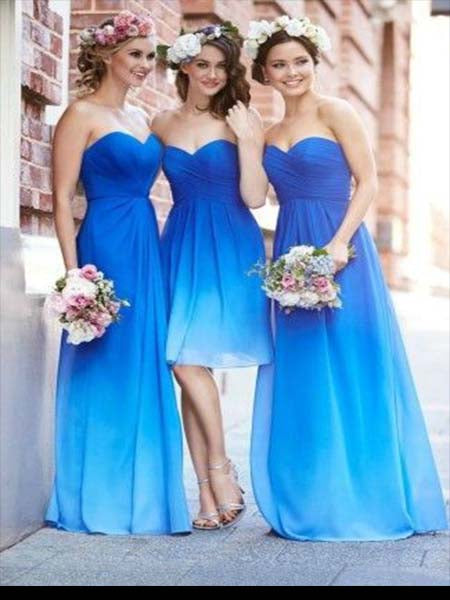 Chiffon Bridesmaid Dresses BM060 - LaRovias