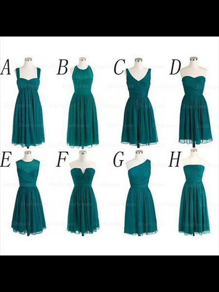 Chiffon Bridesmaid Dresses BM007 - LaRovias