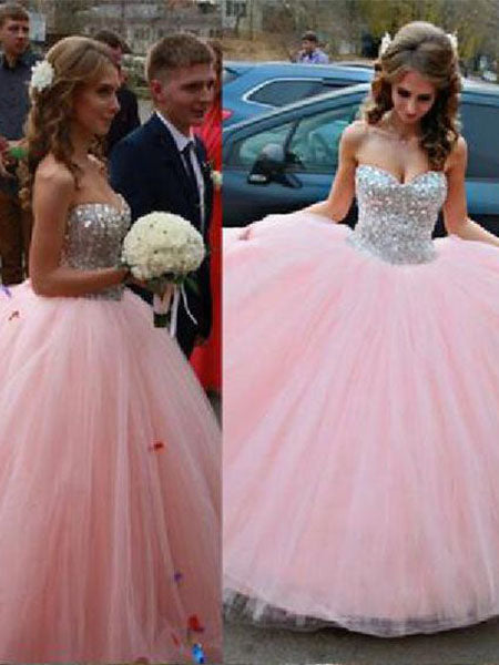 Beaded Formal Dresses Prom Dresses Wedding Party Dresses LPD713 - LaRovias