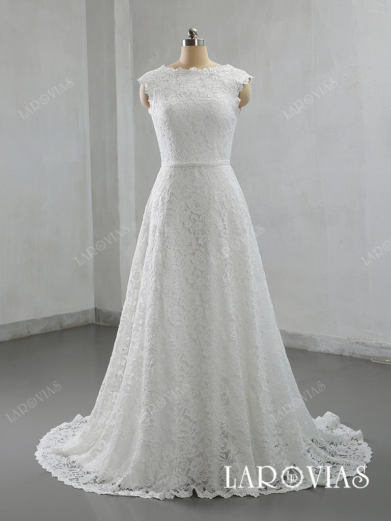 2019 New Style Lace Wedding Dresses Bridal Gowns LR045