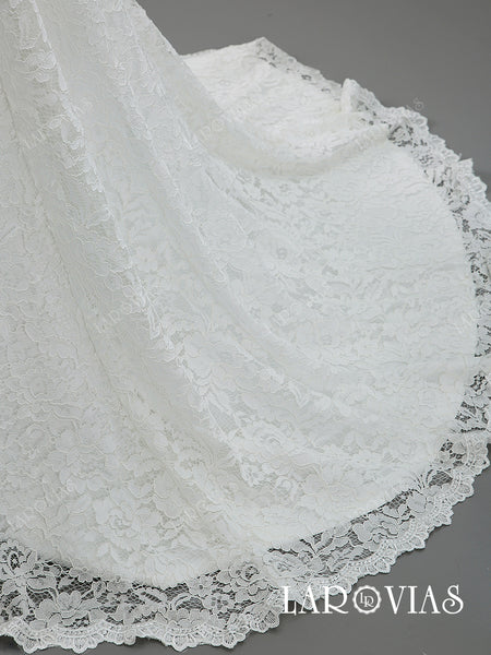 2019 New Style Lace Wedding Dresses Bridal Gowns LR045 - LaRovias
