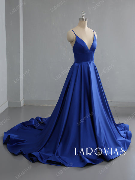 Royal Blue Prom Dresses Sweet 16 Dresses Wedding Party Dresses LPD542 - LaRovias