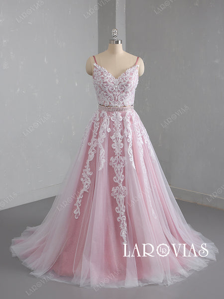 Lace Prom Dresses Wedding Party Dresses LPD744 - LaRovias