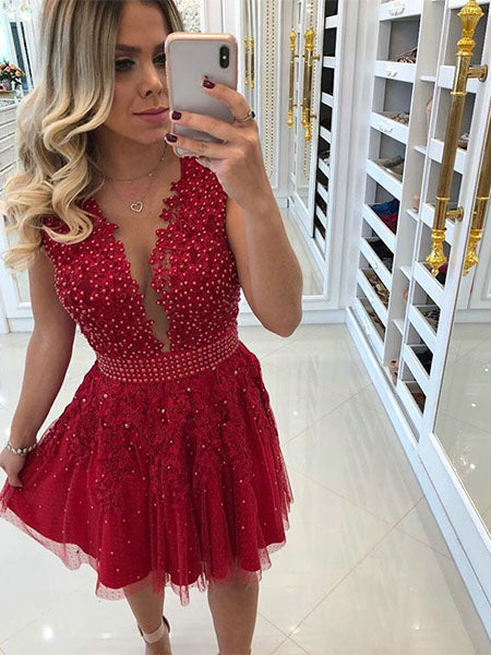 Homecoming Dresses Sweet 16 Dresses Wedding Party Dresses LPD756 - LaRovias