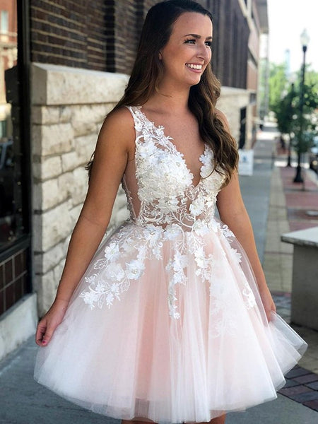 Homecoming Dresses Sweet 16 Dresses Wedding Party Dresses LPD760 - LaRovias