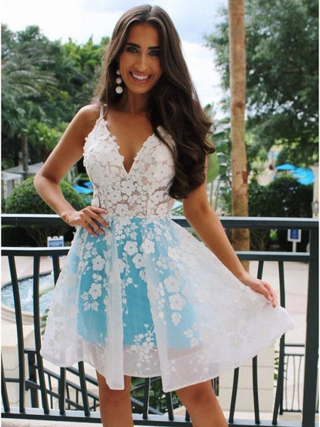 Sweet 16 Dresses Homecoming Dresses Wedding Party Dresses LPD827 - LaRovias