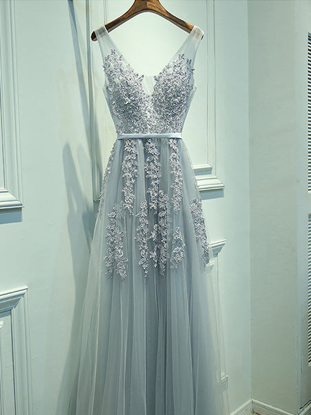 Lace and Tulle Prom Dresses Wedding Party Dresses LPD847 - LaRovias