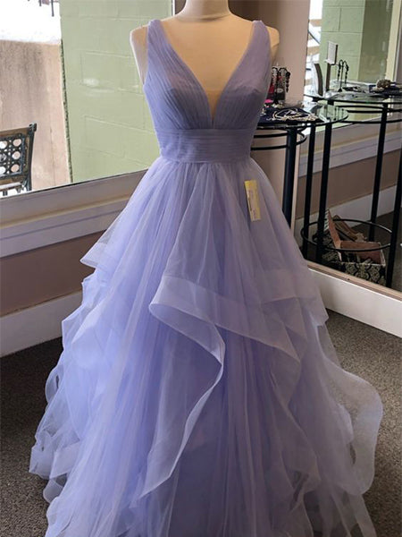 Tulle Prom Dresses Graduation Party Dresses LPD903 - LaRovias