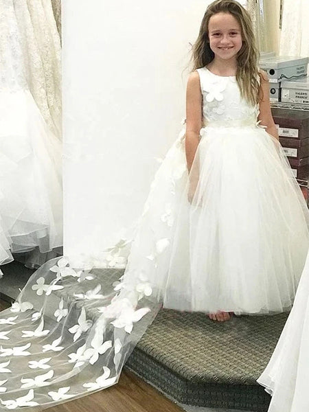 Flower Girl Dresses FG009 - LaRovias