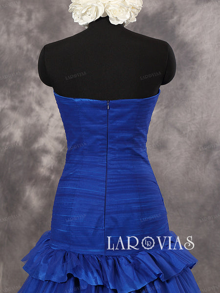 Royal Blue Prom Dress Party Gown WD261 - LaRovias