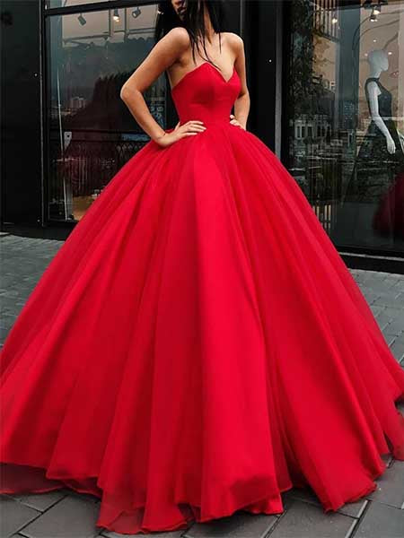 A Line Prom Dresses Formal Dresses Wedding Party Dresses LPD053 - LaRovias
