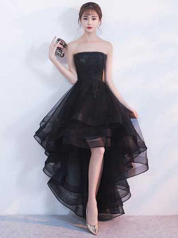 Tulle Homecoming Dresses Evening Dresses LPD077 - LaRovias
