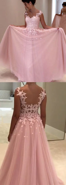 Tulle and Lace Prom Dresses Formal Dresses Wedding Party Dresses LPD363 - LaRovias