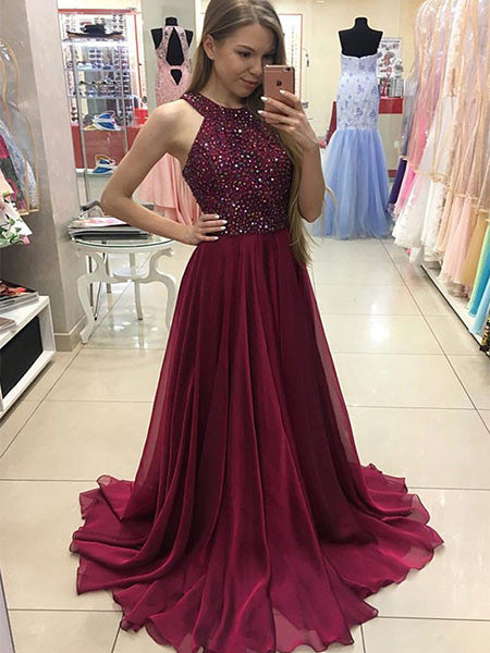 Beaded Formal Dresses Prom Dresses Wedding Party Dresses LPD440 - LaRovias