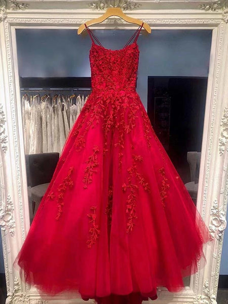 Lace and Tulle Prom Dresses Formal Dresses Party Gowns LPD918 - LaRovias
