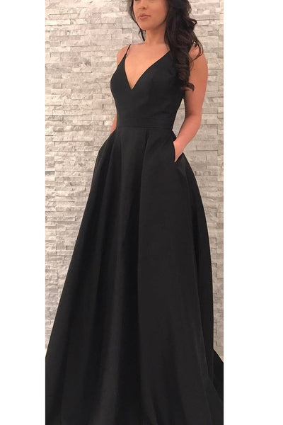 Sexy Prom Dresses Wedding Party Dresses Evening Dresses with Spaghetti Straps LPD117 - LaRovias