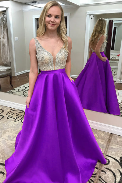 Beaded Prom Dresses Wedding Party Dresses Evening Dresses LPD132 - LaRovias